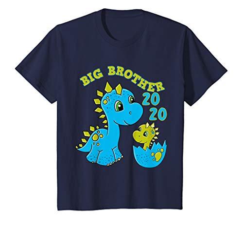 Kinder Großer Bruder 2020 Shirt Dino Big Brother Dinosaurier -