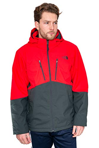 THE NORTH FACE Apex Elevation Jacke Gr. XL, Red/Asphalt Grey - Face Herren Apex Jacke North