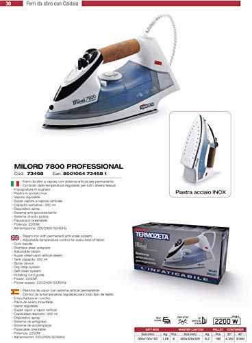 Zoom IMG-1 termozeta milord 7800 professional ferro