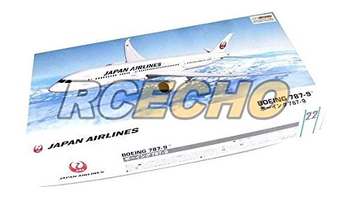 rcecho-hasegawa-aircraft-model-1-200-jp-airlines-boeing-787-9-22-hobby-10722-h0722-with-rcecho-full-