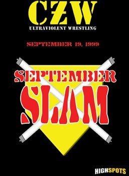 Czw- Combat Zone Wrestling- September Slam DVD-R