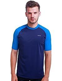 H.MILES hombres camiseta de neopreno Rash Guard Traje de buceo para hombre  Men Rashguard 162c3a6f373