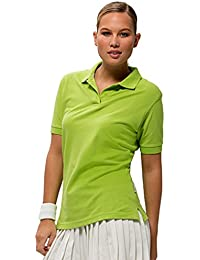 Slazenger Forehand Ladies` Polo Apple Green