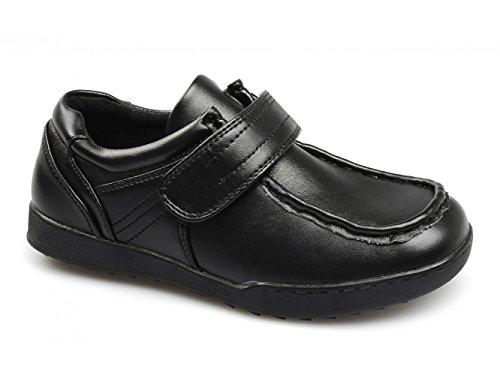 Renegado Único Oliver Lge Sapatos Mochila De Escola Novo Wallaby, Velcro, Preto