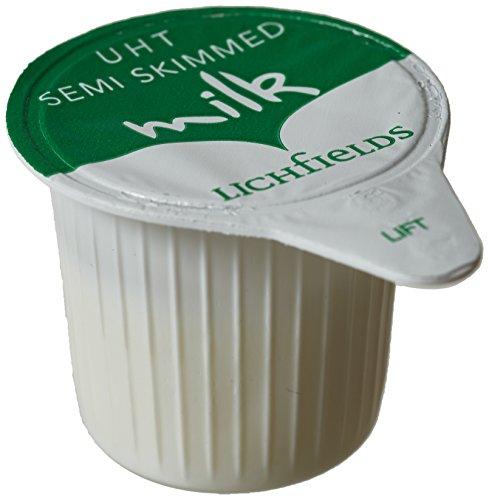 Desconocido Lichfields UHT Semi leche desnatada en porciones 120 x 12ml