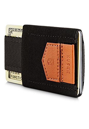 huskk-minimalist-slim-wallet-10-card-holders-cash-coins-or-keys-black-ecsc-b