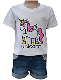 Red Dog Wear Kids Unicorn T.Shirt