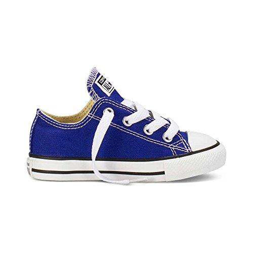 Scarpe basse CONVERSE in ALL STAR Classic KIDS in CONVERSE tessuto blue elettrico 742373C 5de7f3