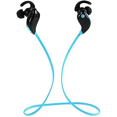 thanly inalámbrica Bluetooth V4.1Auriculares en oreja Earbud auricular EDR estéreo auricular deporte cancelación de ruido con micrófono a prueba de sudor para iPhone se 55s 66s Plus Samsung S3S4S5S6S7HTC LG