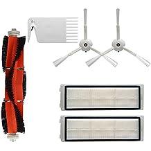 Accesorios para Aspiradoras Kit de Reemplazo Pieza de repuesto de vacío Cepillo lateral + Filtro +