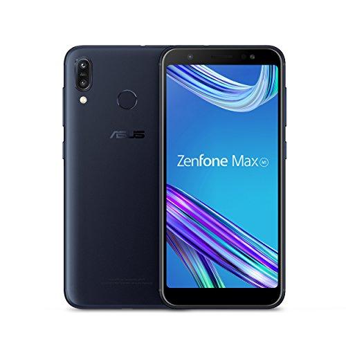 Asus ZenFone Max M1 (ZB555KL-S425-2G16G-BK) Mobiltelefon, 5,5 Zoll (14 cm), HD+ 2 GB RAM, 16 GB Speicher, LTE, entsperrt, Deepsea Black -