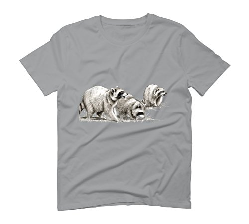 Three Bandits Men's Graphic T-Shirt - Design By Humans Opal
