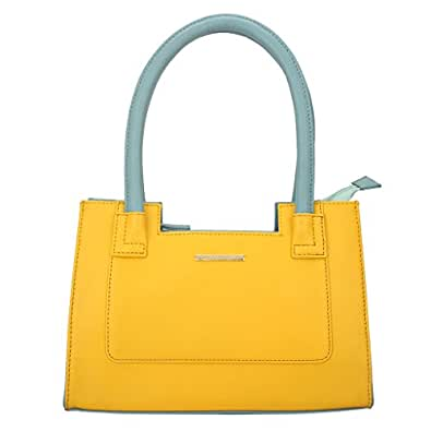 Lapis O Lupo Amber Women Handbag (Yellow)