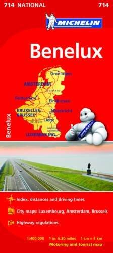 Mapa National Benelux (Mapas National Michelin) por Michelin