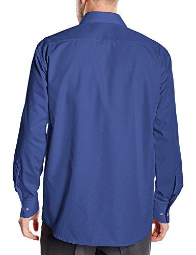 BlueBlack Valerio - Chemisier Homme Bleu (dunkelblau 15)