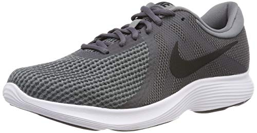 Nike Revolution 4 EU, Scarpe da Corsa Uomo, Multicolore (Dark Black/Cool Grey/White 010), 44.5