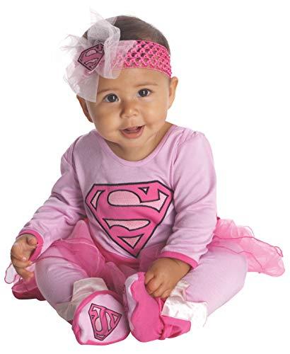 Supergirl Baby Kostüm Mädchen - Rubie's DC Super-Super Kostüm Baby-Freunde