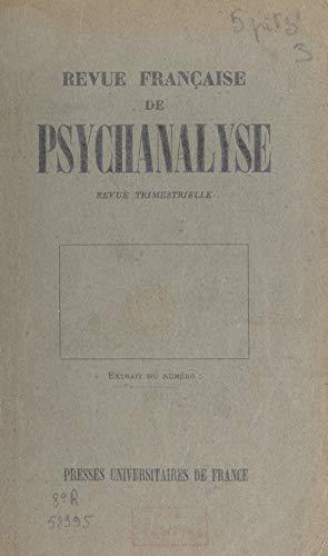 Genèse des premières relations objectales: Observations directes sur le nourrisson pendant sa première année (French Edition)