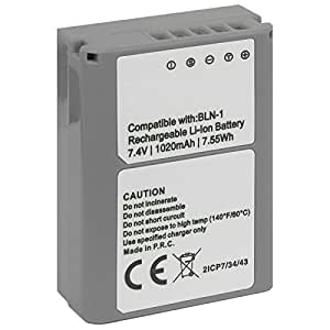 Batterie BLN-1 pour Olympus OM-D E-M1, OM-D E-M5, Pen E-P5 -INFOCHIP-