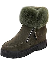 Tefamore Zapatos mujer Botas de Nieve de Casual de Anti-deslizante de Suave Moda Otoño Invierno de Calentar