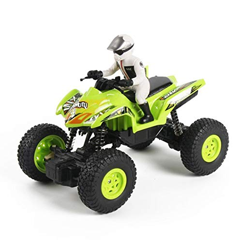 WXIAORONG RC Motorrad, Remote Control Beach Quad Bike - Offroad Climbing Car Super Fun Speed Master Remote Control Toy für Kinder Erwachsene,Green (Remote Control Spielzeug Für Erwachsene)