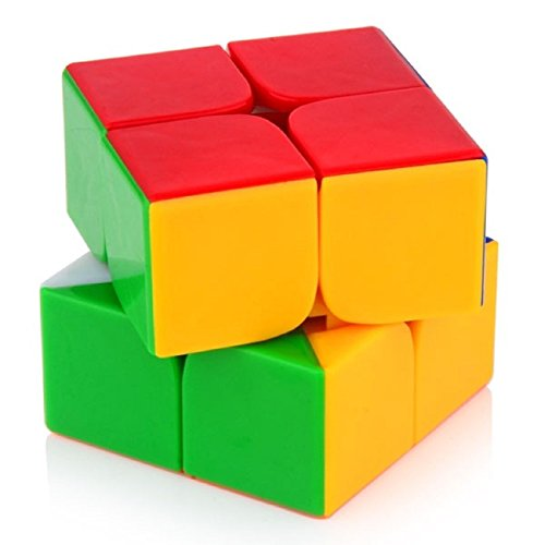 Mayatra'S 2X2 High Speed Stickerless Speedy Rubik Magic Puzzle Cube - Multi Color  available at amazon for Rs.230