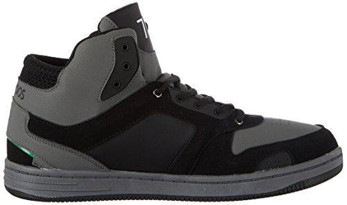 KangaROOS K-Baskled II, Baskets Mixte Adulte Schwarz (Jet Black/Steel Grey)