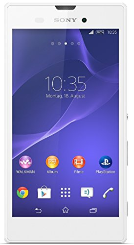 Sony Xperia Style Smartphone (13,5 cm (5,3 Zoll) HD-TRILUMINOS-Display, 1,4-GHz-Quad-Core-Prozessor, 8 Megapixel-Kamera, Android 4.4)  weiß - [T-Mobile Version]