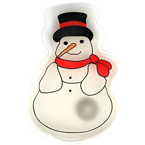 eBuyGB® chauffe-mains réutilisable Gel / paquet de la chaleur - de chauffage instantané (flocon de neige)
