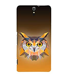 Ullu Owl Hoot 3D Design 3D Hard Polycarbonate Designer Back Case Cover for Sony Xperia C5 Ultra Dual :: Sony Xperia C5 E5553 E5506 :: Sony Xperia C5 Ultra