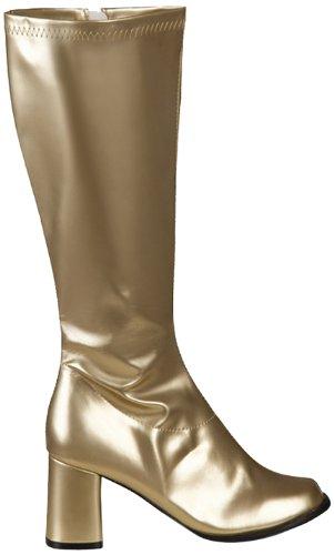 Boland Damen Stiefel - 46272 - Gold - 38 - Gold Kostüm Stiefel