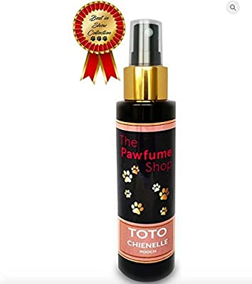TOTO Chienelle Pooch Pawfume - Perfume Designer Dog Cologne Fragrances Scented Like Real Perfume by The Pawfume Shop