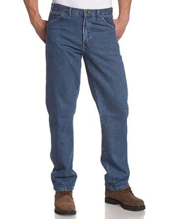 Dickies - - 17-293 Regular Fit Jeans, 38W x 32L, Stonewashed Indigo Blue
