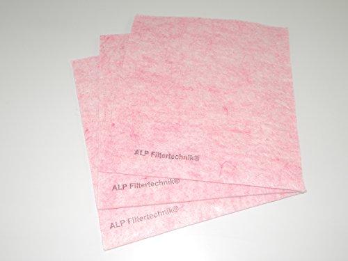 Feinfilter Filtermatte F7 2mx1m ca. 4-6mm in dichter Ausführung zum selberschneiden Filtermatte Luftreiniger Pollenfilter Filteranlagen