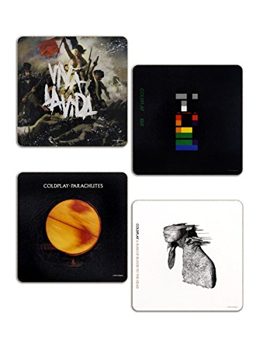 Coldplay 4 Coaster Set