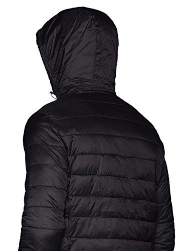 Result: Snow Bird Hooded Jacket R194M Grün - Bleu/Jaune Fluo