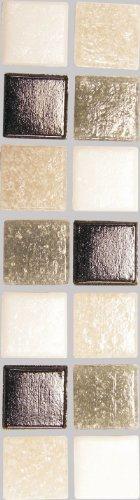 Mosaik-Stein-Set 2x2cm 200g Moonlight-Mix [Spielzeug] - 2 X 2 Mosaik