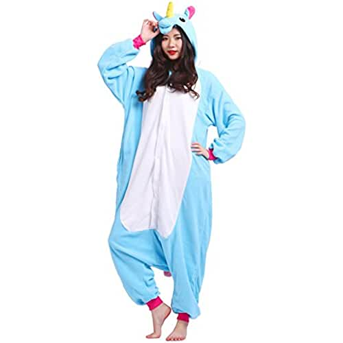 pijama de unicornio kawaii Pijama Unicornio, Onesie Modelo Animal Cosplay para Adulto entre 1,40 y 1,87 m Kugurumi Unisex