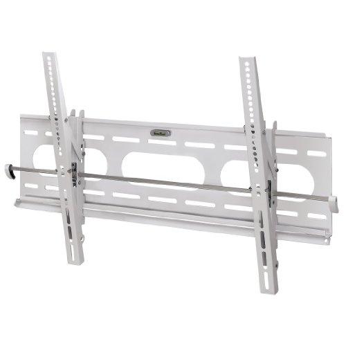 Hama TV-Wandhalterung Motion, neigbar, für 94 - 160 cm Diagonale (37 - 63 Zoll), für max. 75 kg, VESA bis 800 x 400, Wandabstand 4,6 cm, weiß