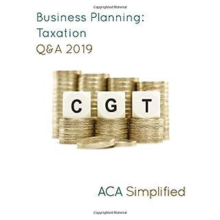 Business Planning: Taxation Q&A 2019