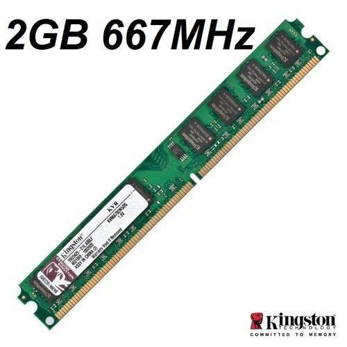 Kingston - Memoria RAM 2GB 667MHz DDR2 Non-ECC CL5 DIMM