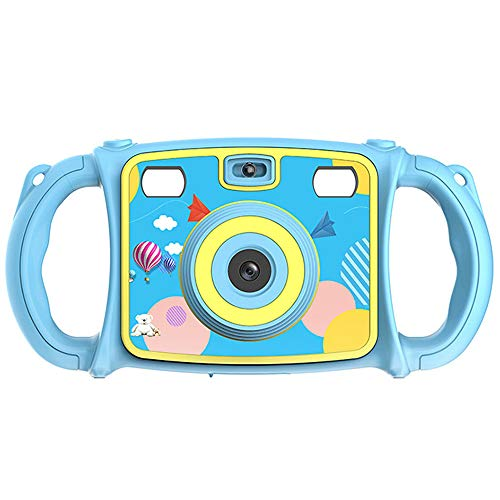 "PIANAI Digital Kamera für Kinder,DIY Kamera für Kinder mit Aufkleber Digital Kamera 2"" Bildschirm Mini Kids Camera Kinderkamera,Blue"