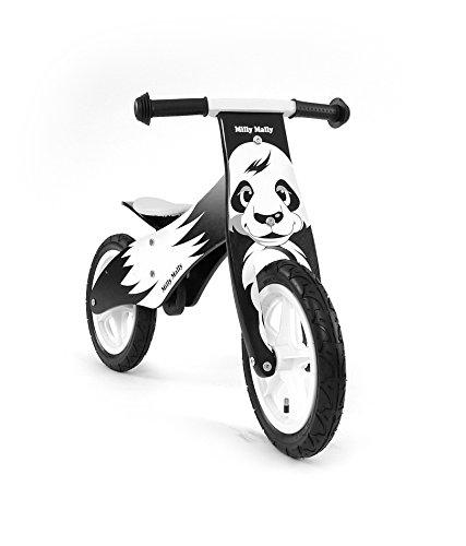 Draisienne - vélo en bois pour bébé - vélo de marche sans pedale Bicycle de balance, Thème:Panda