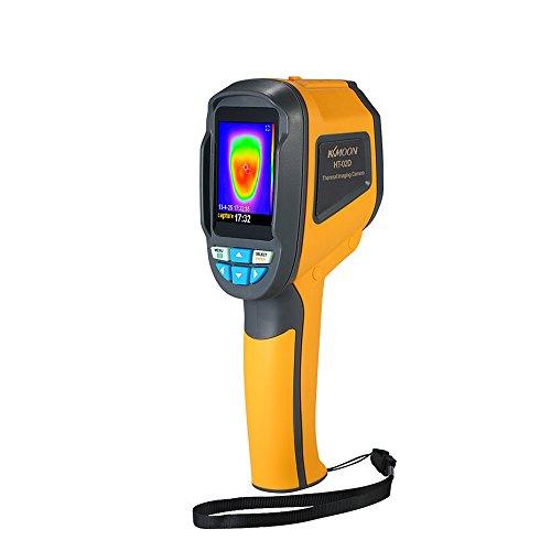 KKmoon Termometro a Infrarossi per Termocamere Palmare da -20 ° C a 300 ° C e Risoluzione IR 1024 Pixel Telecamera a Colori con Display TFT a Colori da 2,4