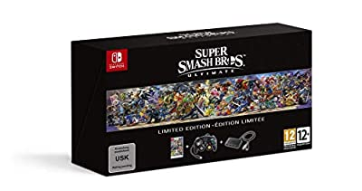 Switch Pro Controller Super Smash Bros Edition