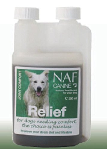NAF Canine Relief 250ml – Natural Joint Comfort Devils Claw Supplement for Dogs