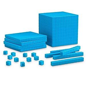 Learning Resources- Set de Base Diez con Ranuras para Principiantes, Color (LER0930)