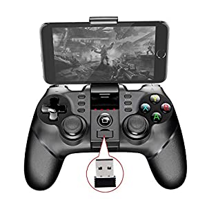 lossomly Bluetooth Game Controller Ipega 9076 Batman Bluetooth Gamepad Wireless Controller 2.4G Wireless Bluetooth-Empfänger Unterstützt PS3-Spielekonsole Console Player forSale