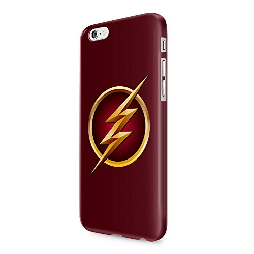 The Flash Logo Justice League Superhero Comics Hard Snap-On Protective Case Cover For Iphone 6 PLUS / Iphone 6S PLUS