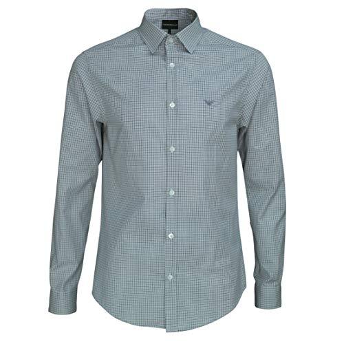 Emporio Armani 8N1C75 1V04Z - Camisa Hombre Talla